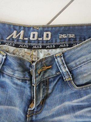Jeans blau Größe XS fällt klein aus 26/32 M.O.D.