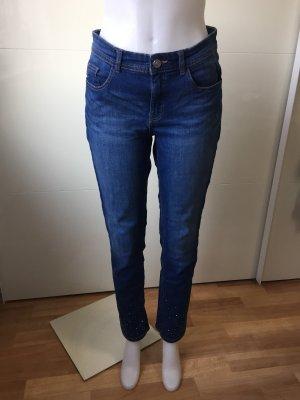 Jeans blau mit Strass