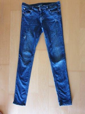 Jeans blau used look neuwertig