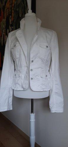 Vero Moda Korte blazer wit