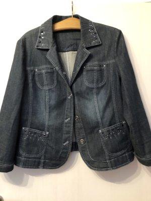 Gerry Weber Blazer en jean bleu coton