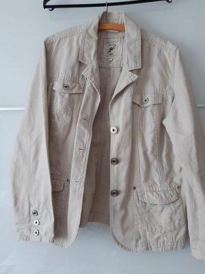 Cecil Blazer in jeans beige chiaro Cotone