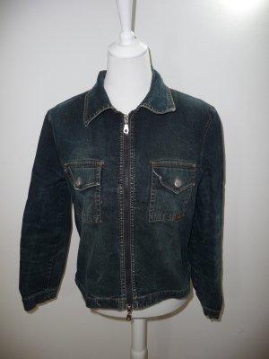 Jacky-O Blazer in jeans blu Cotone