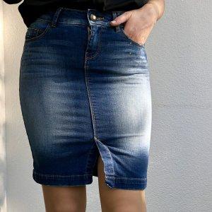 Jeans Bleistift Rock von Bershka