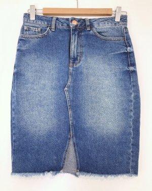 New Look Gonna di jeans blu acciaio