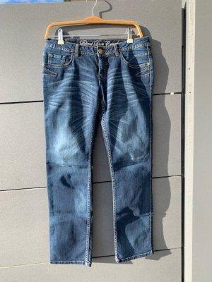 Jeans Blind date low waist blau Gr. S / 36/ 38