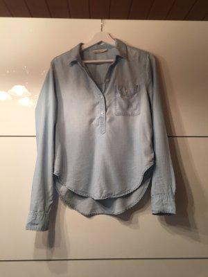 Abercrombie & Fitch Blouse en jean bleu azur
