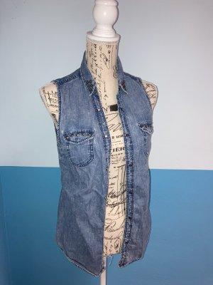 Jeans Bluse Gr.S