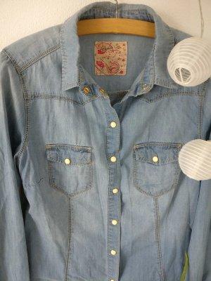 Jeans Bluse Größe 36