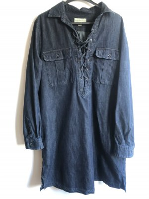 Jeans-Blusenkleid