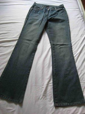 Benetton Jeans Jeans bootcut bleu acier coton