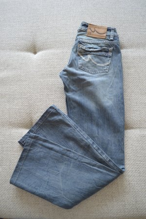 LTB by Littlebig Boot Cut Jeans steel blue cotton