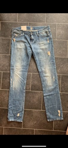 Boss Orange Boyfriend Jeans blue