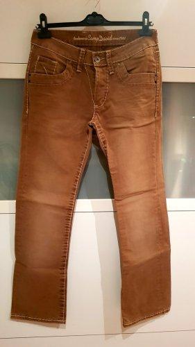 Camp David Jeans baggy bronze-brun sable