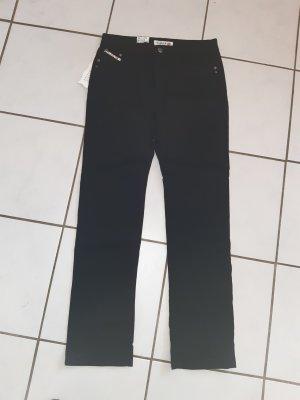 Jeans de moto noir coton