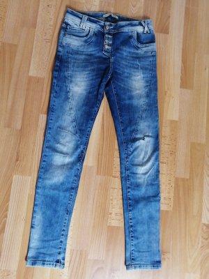 Cipo & Baxx Boyfriend Jeans blue