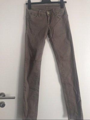 Jeans braun von Reals in Gr. 36