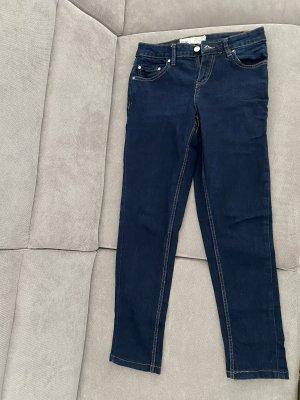 C&A Dopasowane jeansy niebieski