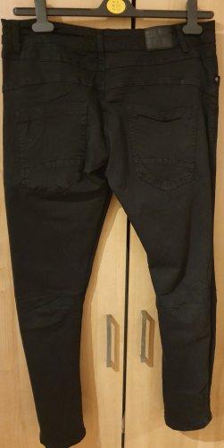 Colloseum Pantalón de pinza alto negro