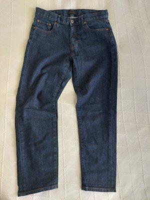 Uniqlo Jeans 7/8 bleu foncé