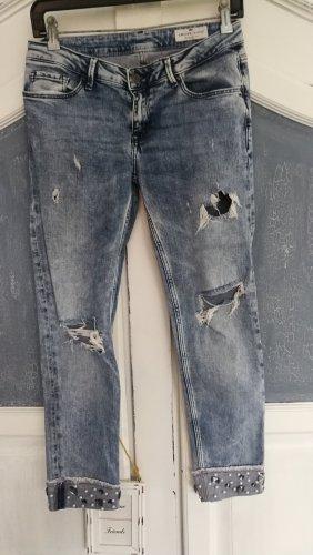 CROSS JEANS Jeans a 3/4 blu-azzurro