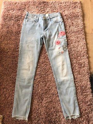 Boyfriend Jeans pink-azure