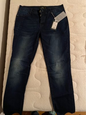 Fritzi aus preußen Low Rise Jeans dark blue