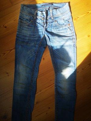 Cipo & Baxx Skinny Jeans pale blue