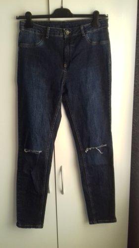 Calzedonia Stretch Trousers dark blue