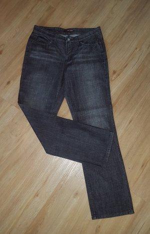 Cambio Boyfriend Jeans black-anthracite