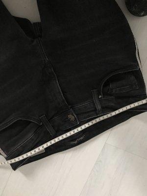Mavi Tube Jeans black