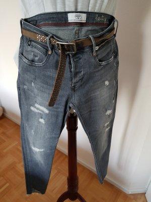 ottod'Ame Stretch Jeans light grey