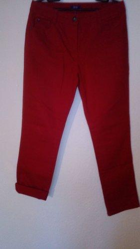 Cecil Pantalón de tubo rojo