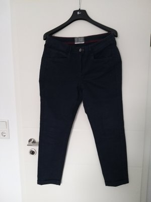 Cecil Hoge taille jeans donkerblauw
