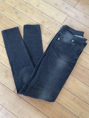 Cheap Monday Skinny Jeans black cotton