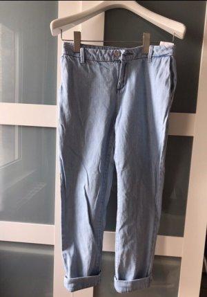 Mango Pantalon chinos bleu