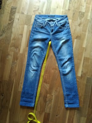 Cipo & Baxx Low Rise Jeans cornflower blue