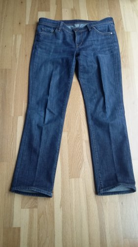 Citizens of Humanity Jeans bootcut bleu foncé coton