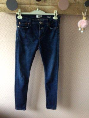 Closed Jeans taille haute bleu