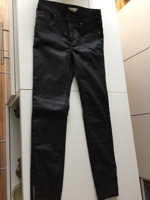 Jeans, coated, schwarz, neu, von h und m, 36