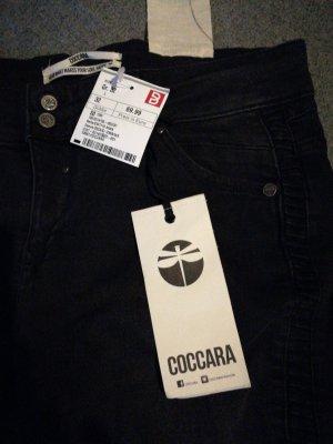 Coccara Pantalone cinque tasche nero