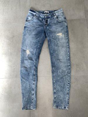 Jeans Comma 34 hellblau Boyfriend