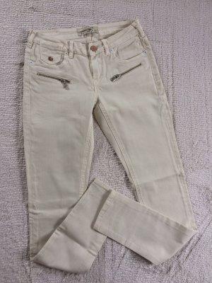 Jeans / cremefarben / /Gr. 26/32 / Maison Scotsch / NEU