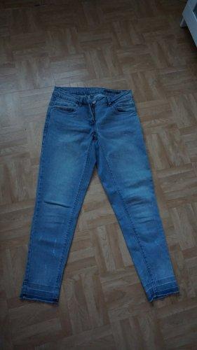 Jeans Cropped Skinny Gr.36