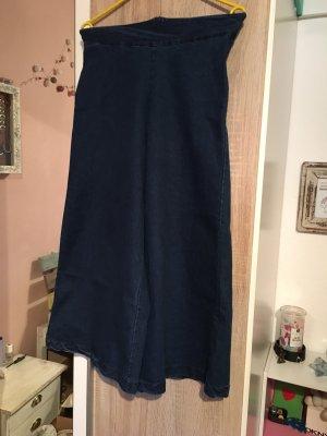 King Kong Fashion Pantalone culotte blu scuro