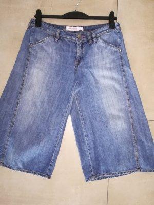 Mango Pantalone culotte blu