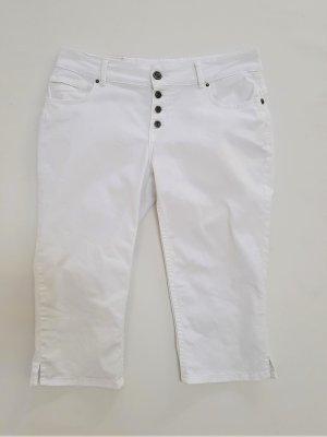 Coccara Spodnie Capri biały