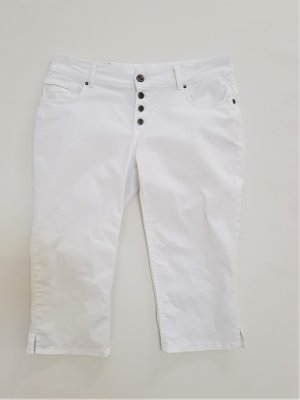 Coccara Pantalone Capri bianco