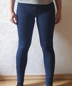 Stradivarius Jeans slim fit blu scuro