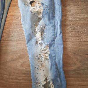 & DENIM Stretch Jeans azure